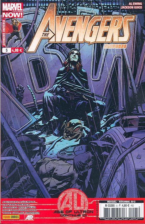 Couverture de Avengers Universe (1re série - 2013) -5- L'ère d'Ultron