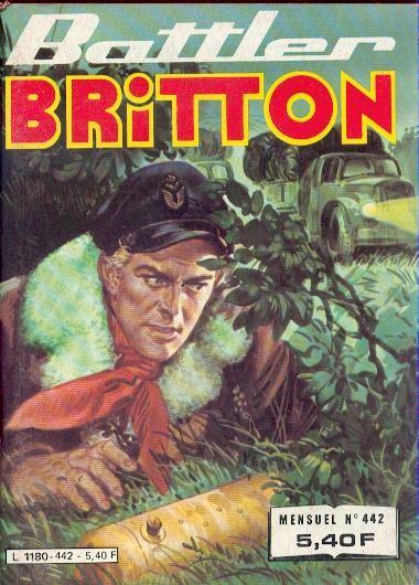 Couverture de Battler Britton -442- Tout ou rien