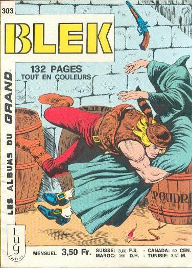 Couverture de Blek (Les albums du Grand) -303- Numéro 303