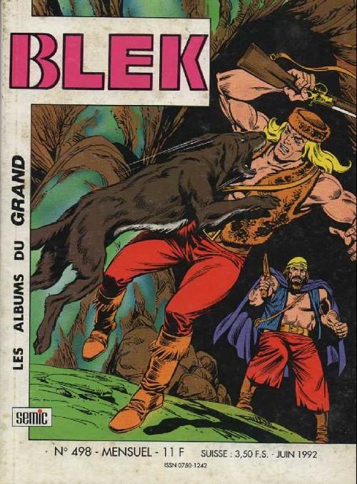 Couverture de Blek (Les albums du Grand) -498- Les trois veuves (2)