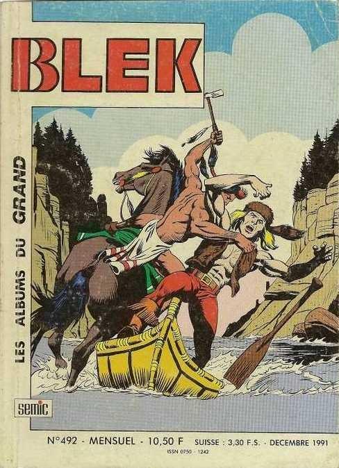 Couverture de Blek (Les albums du Grand) -492- La guerre de Patte de Puma