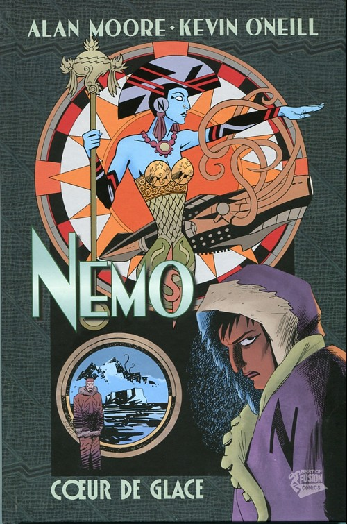 Couverture de La ligue des Gentlemen Extraordinaires -HS1- Nemo - Cœur de glace