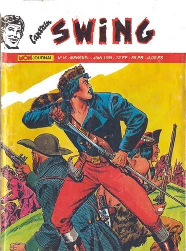 Couverture de Capt'ain Swing! (2e série - Mon Journal) -15- Le Voilier Noir