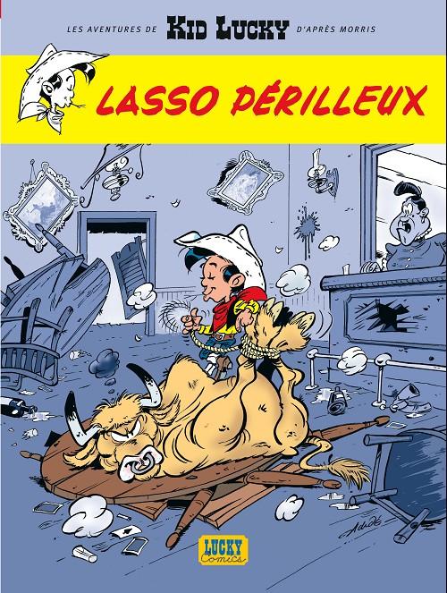 Couverture de Kid Lucky -2- Lasso périlleux