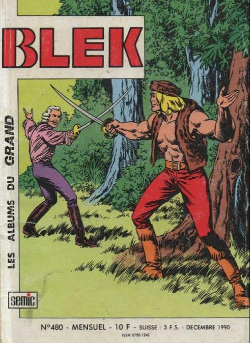 Couverture de Blek (Les albums du Grand) -480- Duel et vengeance