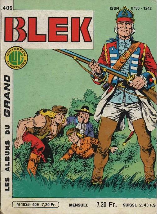 Couverture de Blek (Les albums du Grand) -409- Au secours de l'oncle de Ruddy