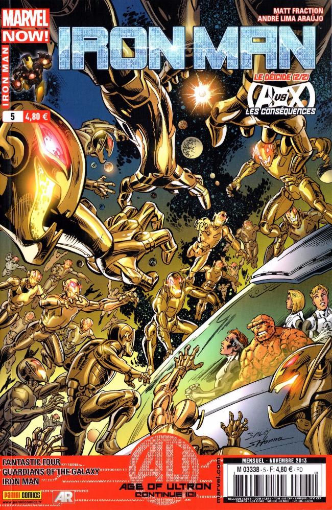 Couverture de Iron Man (Marvel France - 2013) -5- Le déicide (2/2)
