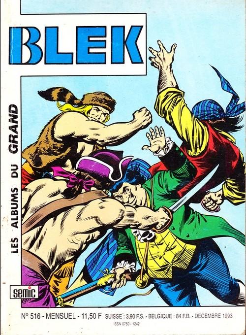 Couverture de Blek (Les albums du Grand) -516- Numéro 516