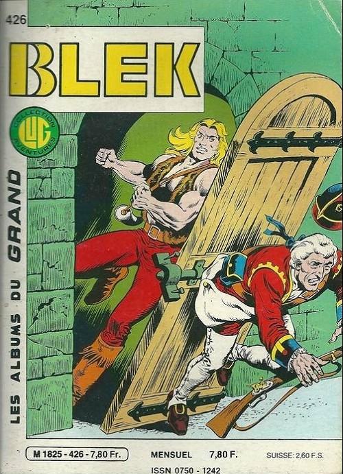Couverture de Blek (Les albums du Grand) -426- Les deux voleurs
