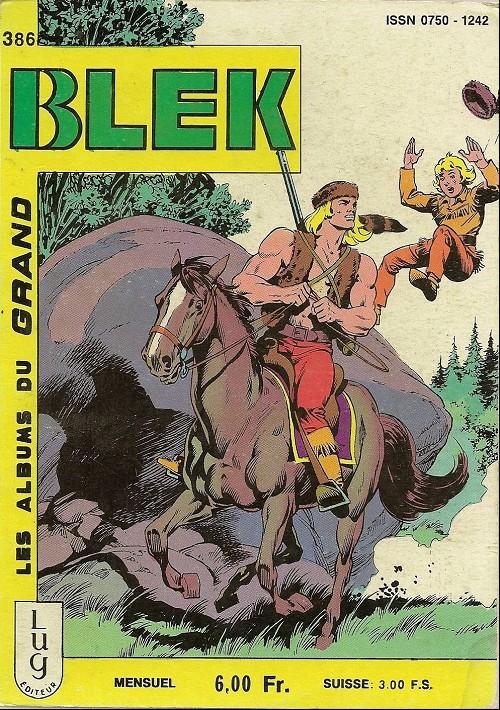 Couverture de Blek (Les albums du Grand) -386- Numéro 386