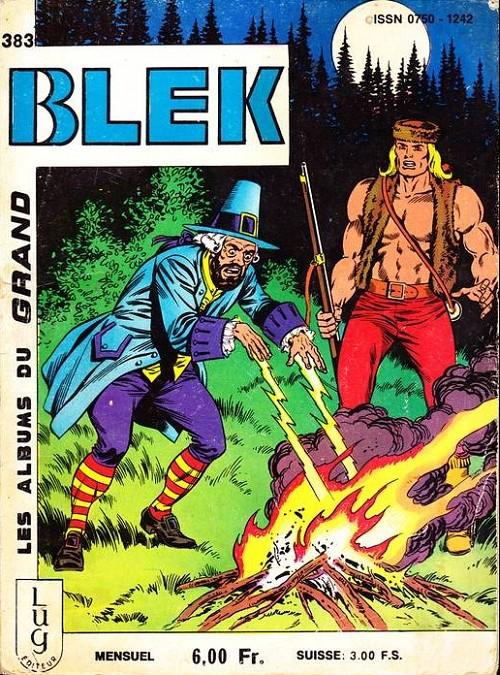 Couverture de Blek (Les albums du Grand) -383- Numéro 383