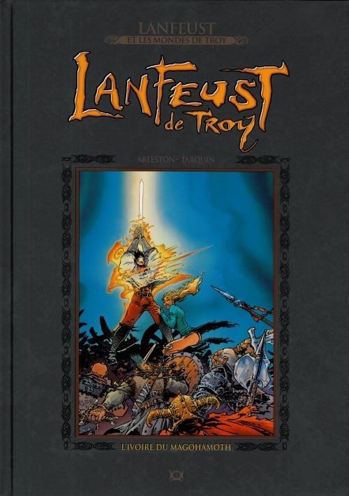 Couverture de Lanfeust et les mondes de Troy - La collection (Hachette) -1- Lanfeust de Troy - L'ivoire du Magohamoth