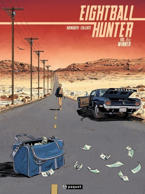 Couverture de Eightball hunter -2- Winner