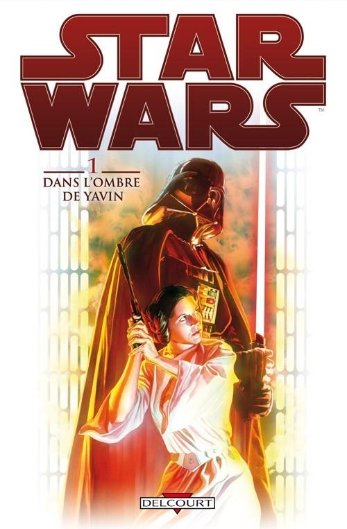 Couverture de Star Wars (Delcourt) -1- Dans l'ombre de Yavin