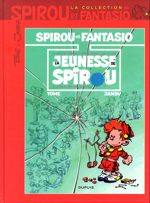 Couverture de Spirou et Fantasio - La collection (Cobra) -40- La jeunesse de spirou