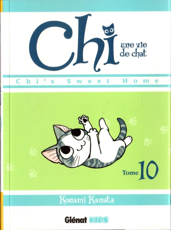 Couverture de Chi - Une vie de chat (format manga) -10- Tome 10