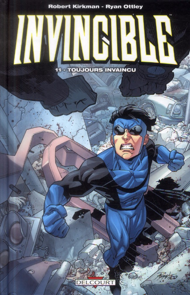 Couverture de Invincible -11- Toujours invaincu