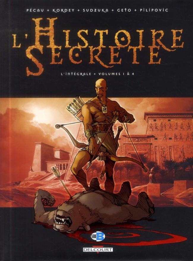 Couverture de L'histoire secrète -INT01- L'Intégrale - Volumes 1 à 4