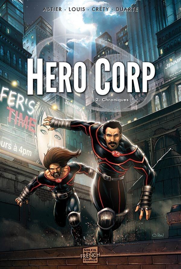 Couverture de Hero Corp -2- Chroniques