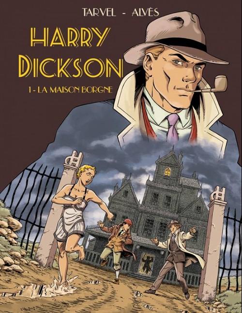 Couverture de Harry Dickson (Grand West) -1TL- La maison borgne