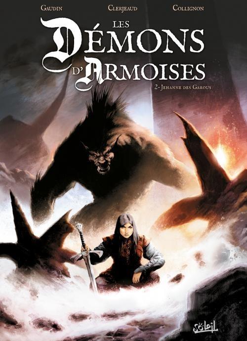 Couverture de Les démons d'Armoises -2- Jehanne des Garous