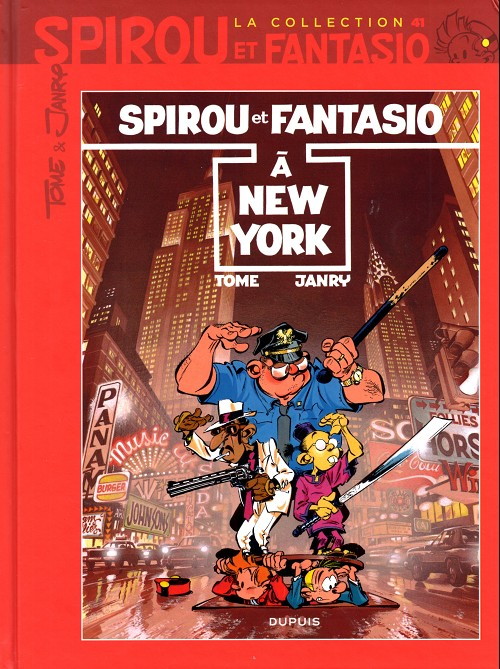 Couverture de Spirou et Fantasio - La collection (Cobra) -41- Spirou à New York
