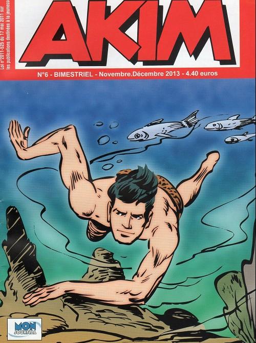 Couverture de Akim (3e série) -6- Le défi et le pic des vautours