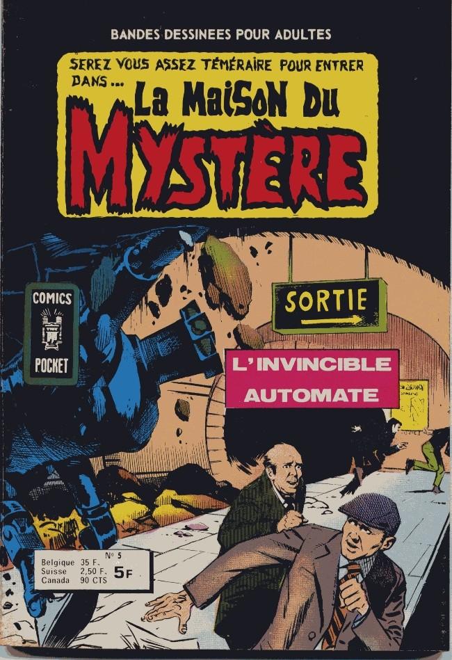 Couverture de La maison du Mystère (Arédit) -5- L'invincible automate
