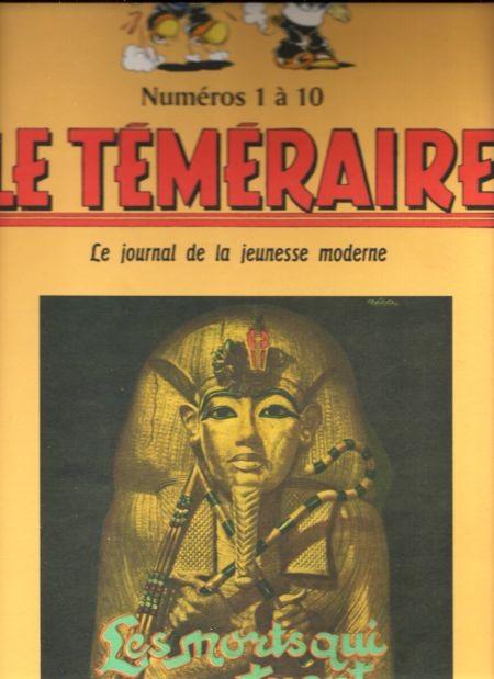 Couverture de Le teméraire (périodique) -1- Numéros 1 à 10