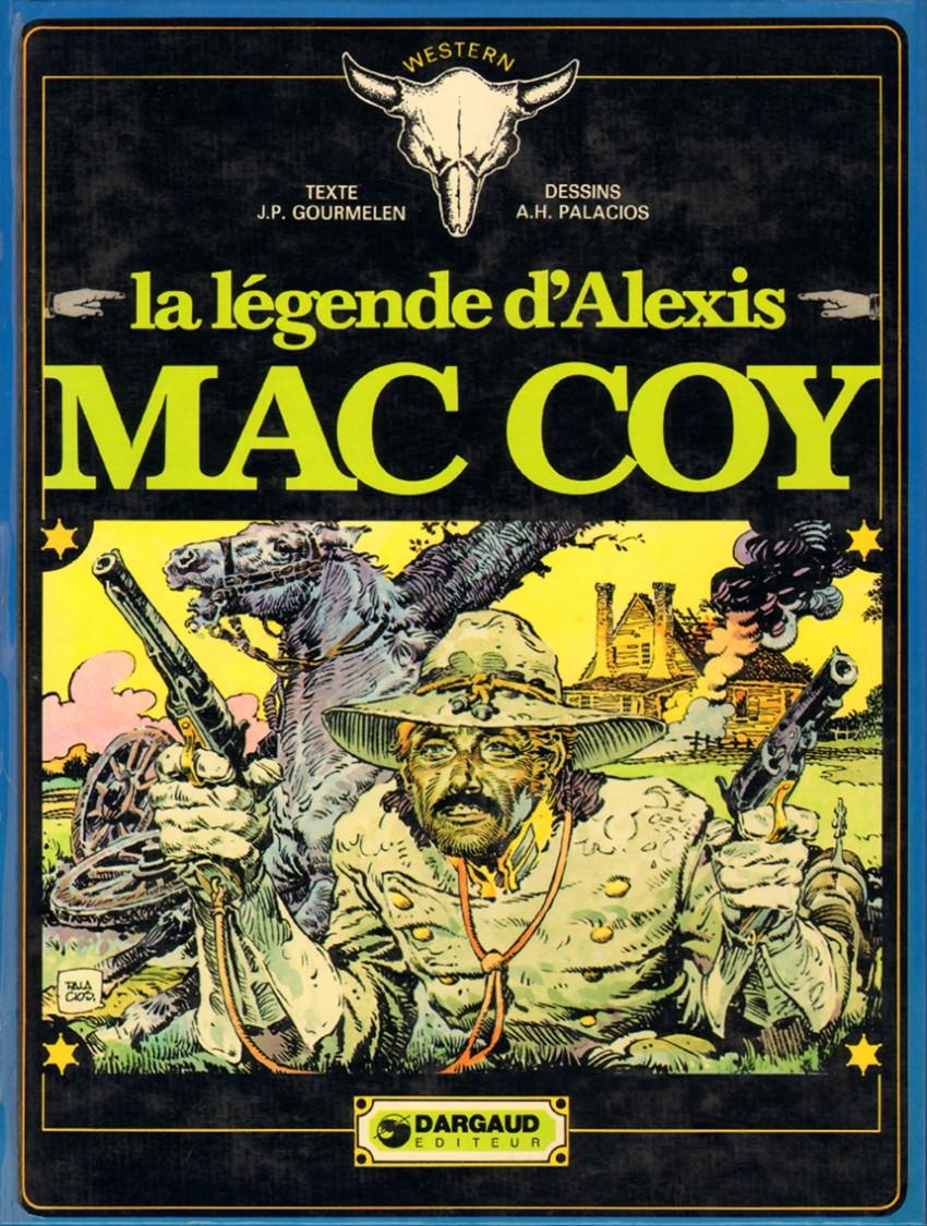 Couverture de Mac Coy -1- La légende d'Alexis Mac Coy