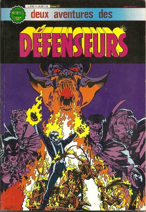 Couverture de Les défenseurs (1re série - Arédit - Artima Color Marvel Super Star) -Rec04- Album N°4 (n°8 et n°9)