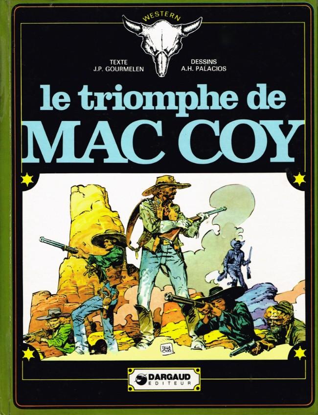 Couverture de Mac Coy -4- Le triomphe de Mac Coy