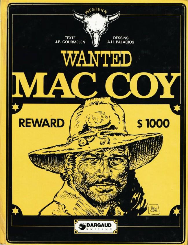 Couverture de Mac Coy -5- Wanted Mac Coy