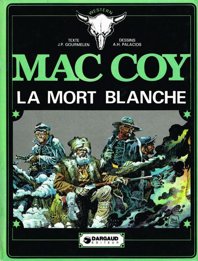 Couverture de Mac Coy -6- La mort blanche