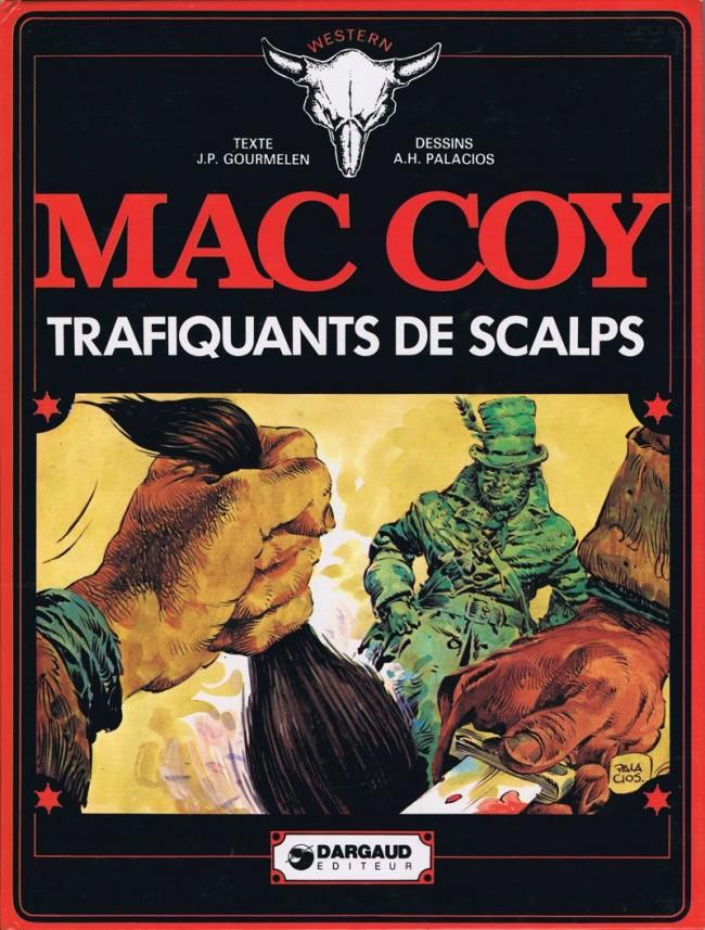 Couverture de Mac Coy -7- Trafiquants de scalps