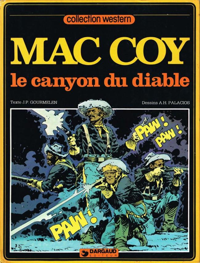 Couverture de Mac Coy -9- Le canyon du diable