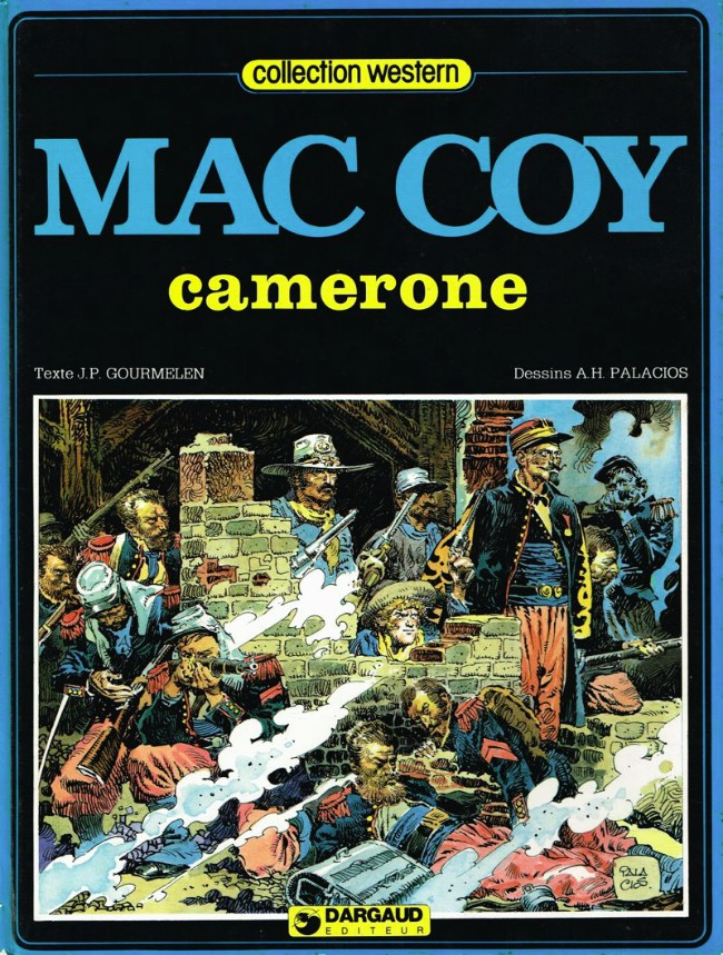 Couverture de Mac Coy -11- Camerone