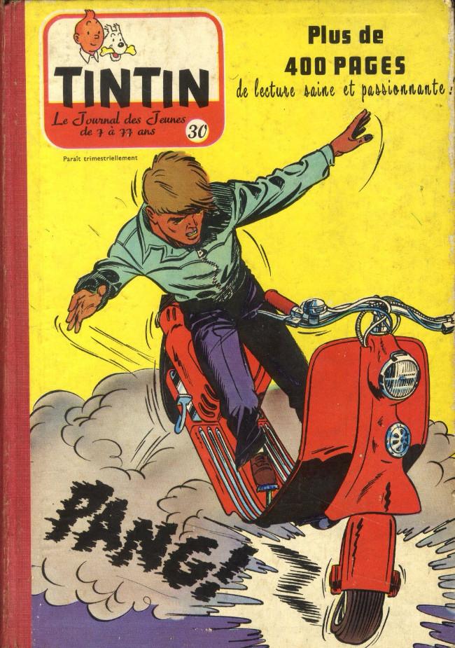 Couverture de (Recueil) Tintin (Album du journal - Édition belge) -30- Tome 30