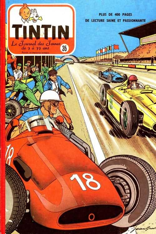Couverture de (Recueil) Tintin (Album du journal - Édition belge) -35- Tome 35