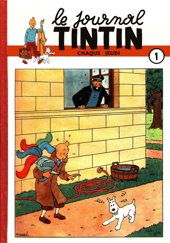 Couverture de (Recueil) Tintin (Album du journal - Édition belge) -1- Tome 1