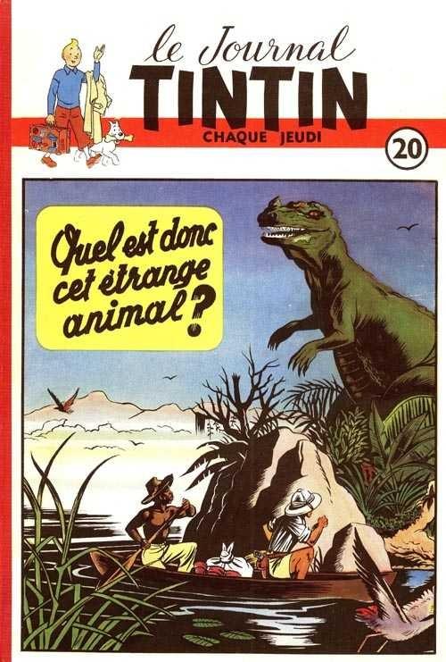 Couverture de (Recueil) Tintin (Album du journal - Édition belge) -20- Tome 20