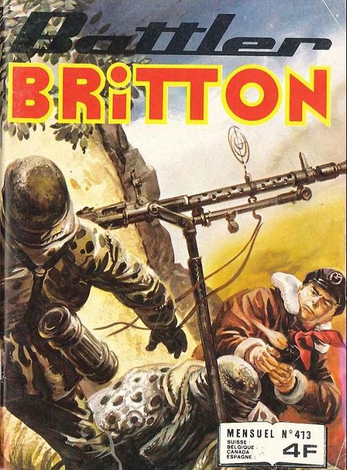 Couverture de Battler Britton (Imperia) -413- L'oustsider - la vieille équipe