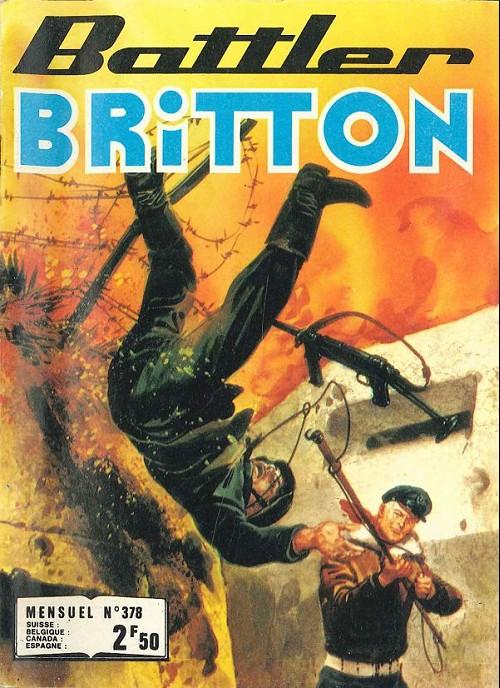 Couverture de Battler Britton -378- Un Français - Le Vieux Tom