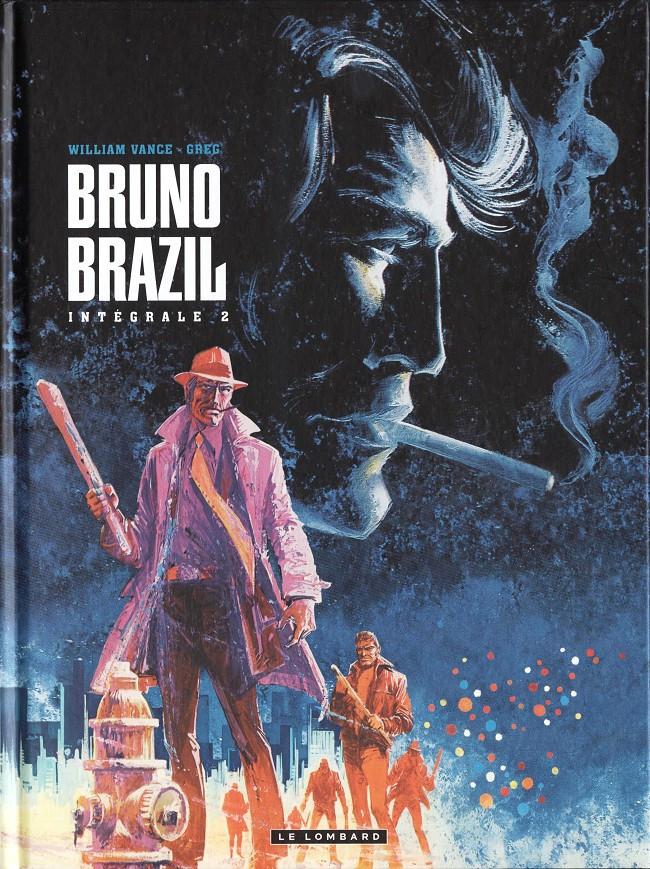 Couverture de Bruno Brazil -INT2- Intégrale 2