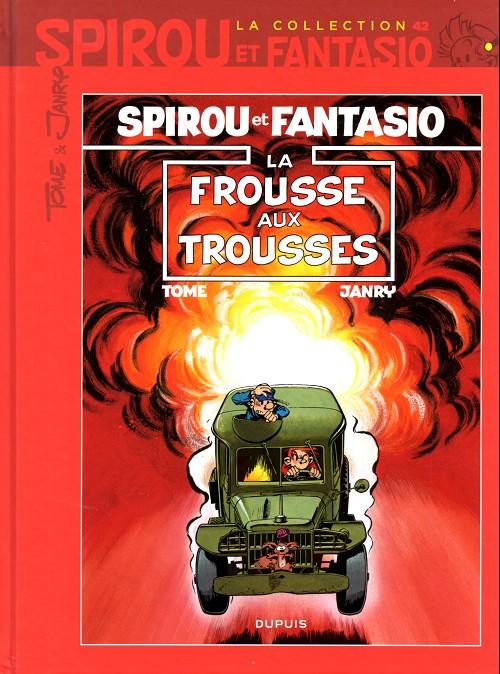 Couverture de Spirou et Fantasio - La collection (Cobra) -42- La frousse aux trousses