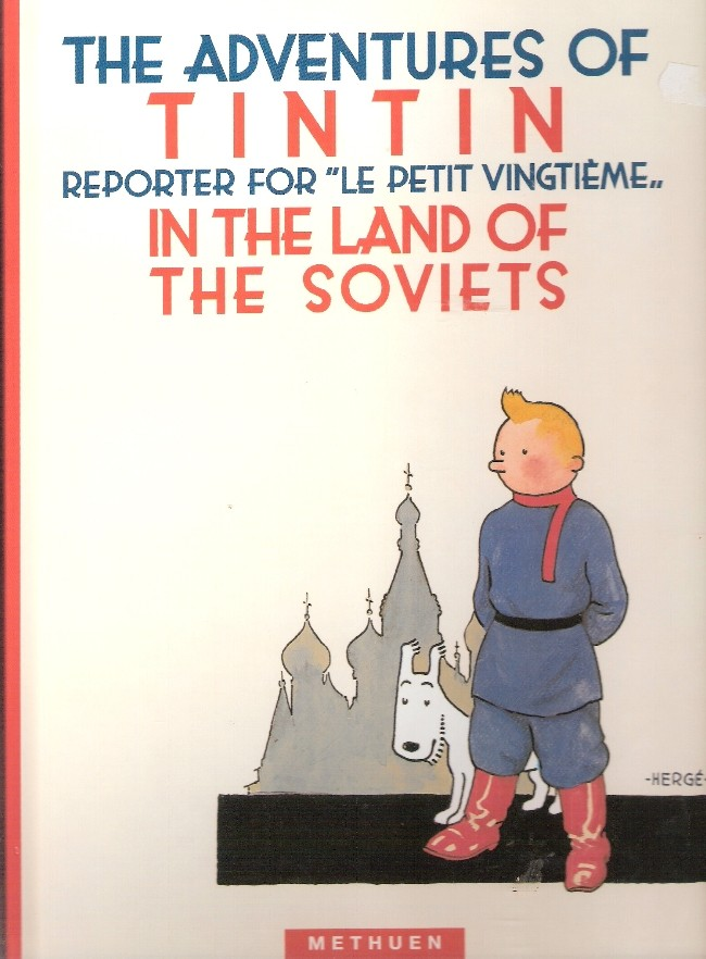 Couverture de Tintin (The Adventures of) -1- The Adventures of Tintin Reporter for