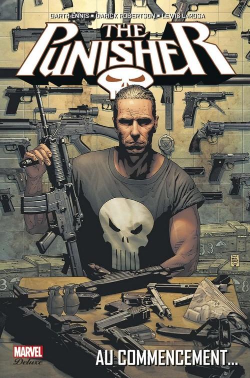 Couverture de Punisher (Marvel Deluxe - 2013) -1- Au commencement...