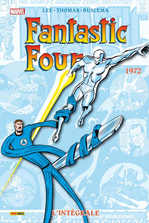 Couverture de Fantastic Four (L'intégrale) -11- Fantastic Four : L'intégrale 1972
