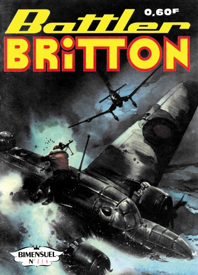 Couverture de Battler Britton -239- Raid de jour