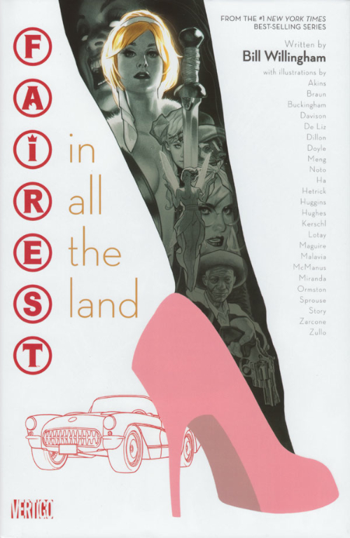 Couverture de Fairest: In all the Land (2013) -GN- Fairest: In all the Land